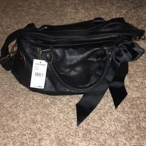 Steve Madden black satchel/crossbody